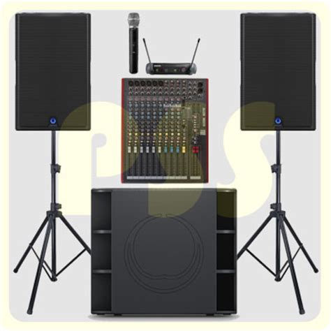 Paket Sound System Outdoor Dan Indoor 15 Inch Aktif Original paket sound system high output paket sound system profesional indonesia