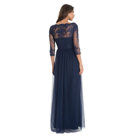 Maxi Sazkia chi chi saskia maxi dress navy l born2style fashion store