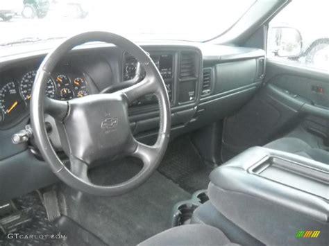 2001 Silverado Interior by Graphite Interior 2001 Chevrolet Silverado 1500 Ls