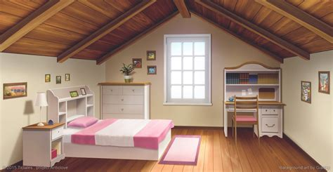Images For Room by Heroine S Room Visual Novel Background By Giaonp On