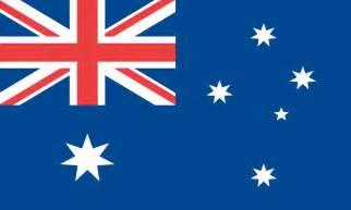 Australia flag symonds flags amp poles inc