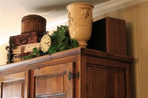common ground ideas  styling  cabinet  cupboard top