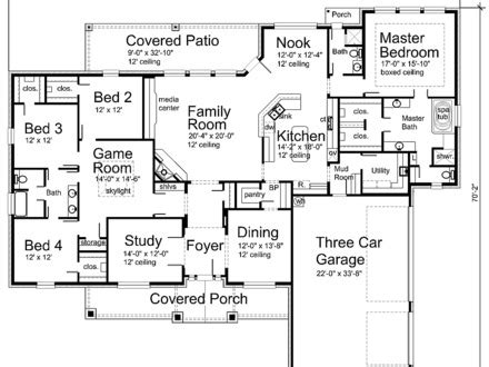 big floor plan modern house plans house floor plan design home designs
