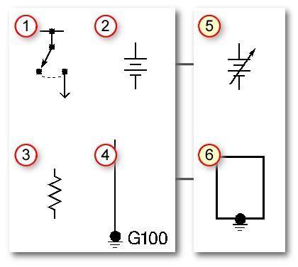 pin  david higgins  automotive electrical electrical symbols auto body repair electrical