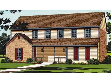 two story country house plans eplans country house plan alluring two story duplex home