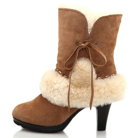 ugg lace high heel boots 5108 overstock ugg boots for