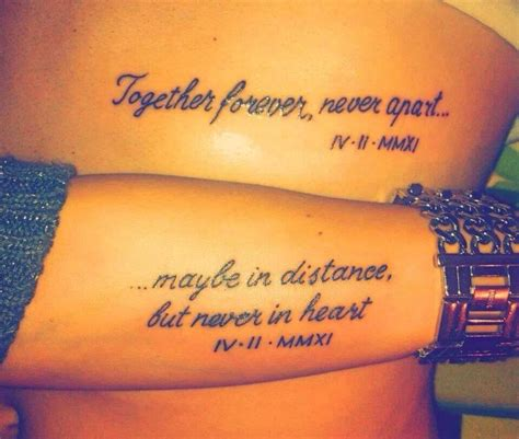 tattoo quotes for partners musely