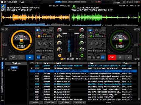 dj software free download full version windows xp dj promixer free home edition t 233 l 233 charger