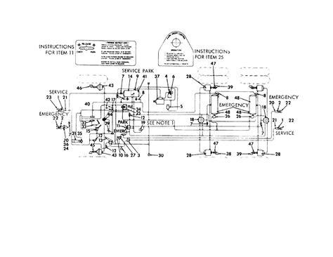 air brake diagram truck air brake check valve images