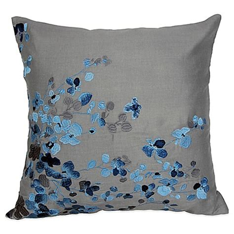 bed bath beyond decorative pillows hycroft embroidered square throw pillow bed bath beyond