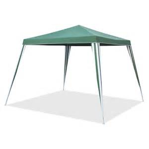 Permanent Shade Canopy by Marquee 2 4m Green And White Square Non Permanent Gazebo