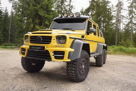 amg mercedes 6x6 mercedes g63 amg 6x6 by mansory hiconsumption