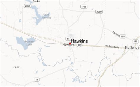 hawkins texas map hawkins location guide