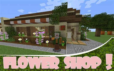 how to build a shop minecraft spawn shop idea flower shop youtube