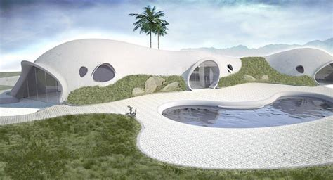 Inflatable concrete housing   who knew?   Architecture