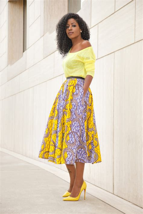 Ankara Skirts Styles | nigerian ankara wrapper skirts and blouses