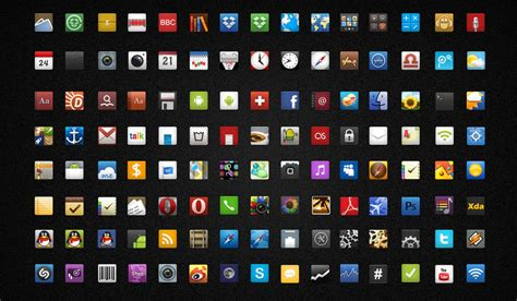 icons for android icons for android by by dongbear on deviantart