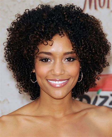 natural hairstyles for african americans with thin wiry hair 30 best natural curly hairstyles for black women curly