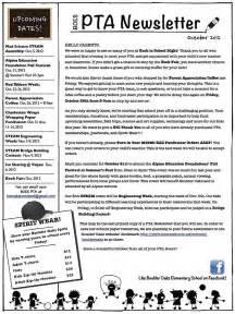 primary school newsletter templates elementary school newsletter articles elementary school