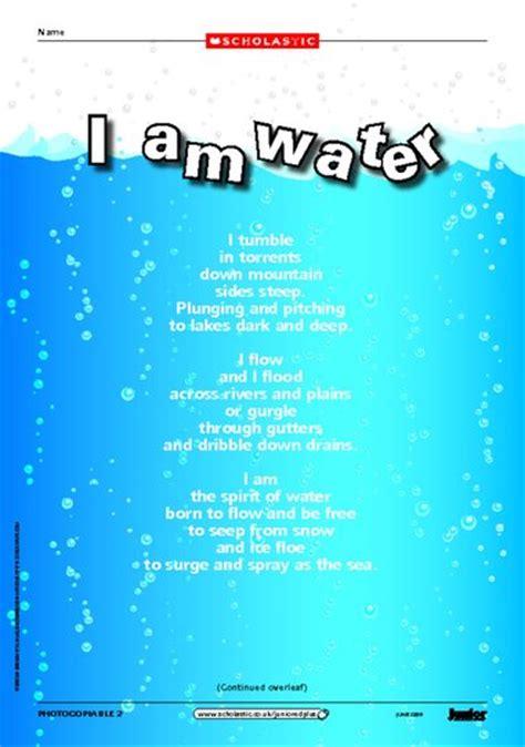 Best Environment Poems Poems Poets Poetry Resources | i am water environmental poem primary ks2 teaching