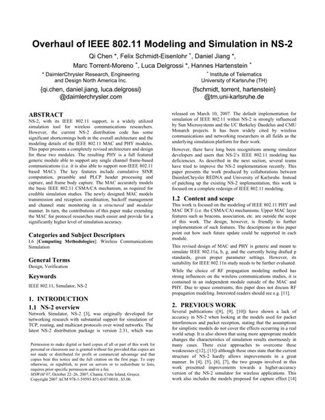 ieee research paper on wireless communication a study of networks simulation tools for wireless