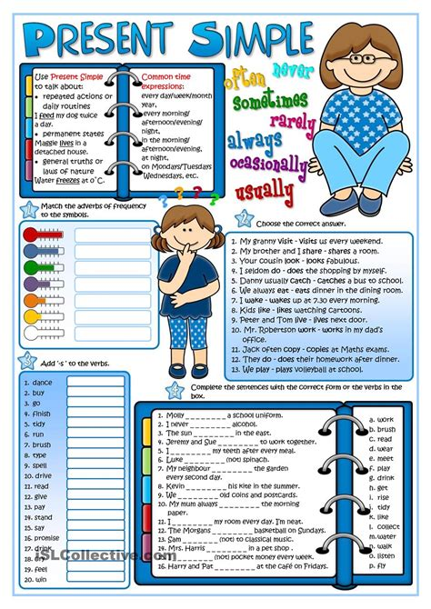 libro teaching tenses ideas for present simple tense present simple english worksheets and english grammar