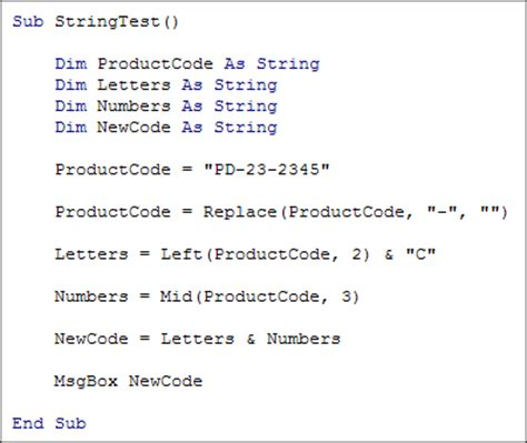 Vba Character Letter Excel Vba Change One Character In String Vba Substring How To In Excel Macrocount Text Strings