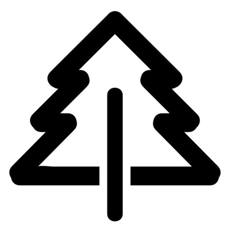 tree symbol pine free icons