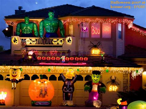 decorated homes for halloween 11 craziest halloween decorated homes
