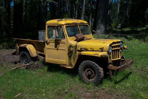 1950s Jeep 1950 S Willys Jeep Truck Gorgeous Absolutely In