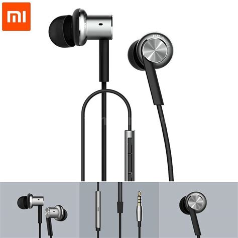 Promo Xiaomi Mi Piston 4 Mi Iv Hybrid Dual Drive In Ear Headphones xiaomi hybrid dual drivers piston v4 earphones in ear headphones