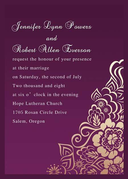 wedding invitations card writing winter wedding invitations at wedding