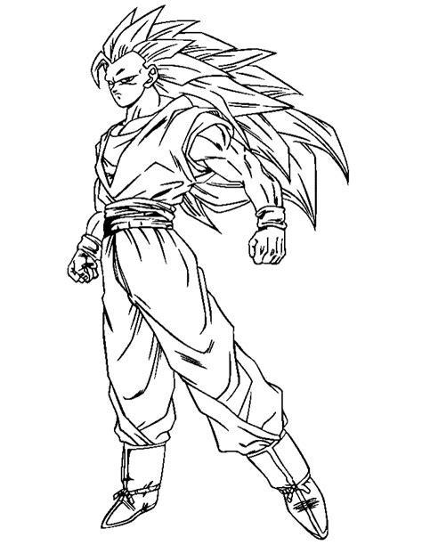 Dragon Ball Z Book AZ Coloring Pages