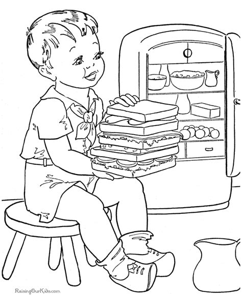 coloring pages of food to print printable food coloring pages az coloring pages