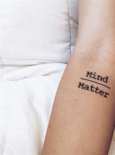mind over matter tattoo 25 best ideas about mind matter on mind