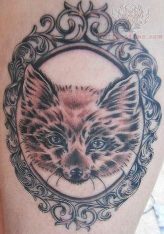 black and grey fox tattoo 90 fantastic frame tattoos