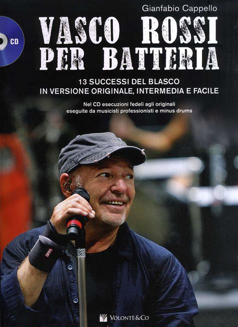 successi di vasco cappello g vasco drum vasco x batteria 13