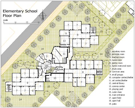 elementary school floor plans surkis elementary school kfar saba israel designshare