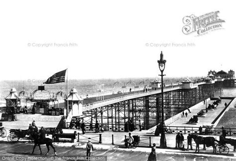 the palace pier and theatre brighton later brighton pier brighton the palace pier 1902 francis frith