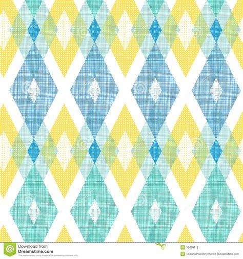 fabric pattern in vector colorful fabric ikat diamond seamless pattern stock