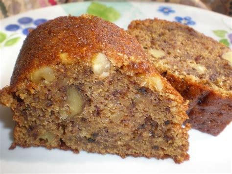 cake banane et noix avec juste un petit filet de sirop d 233 rable recette