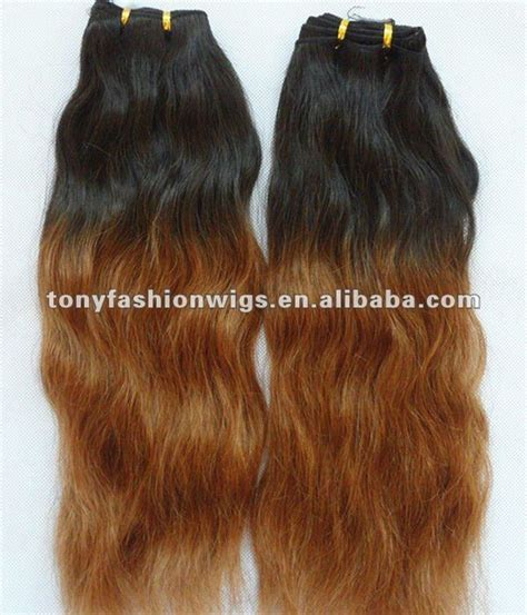 color 30 weave 26 inch 1b t 30 two tone color malaysian hair