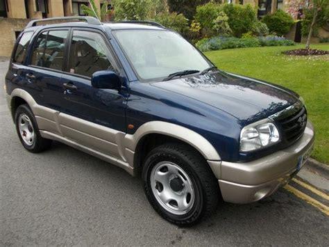 Used Suzuki Vitara For Sale Uk Used 2001 Suzuki Grand 4x4 Vitara 2 0 5dr Petrol For Sale