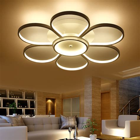 Living Room Ceiling Light Fixture Surface Mounted Ceiling Lights Led Light Living Room Ceiling Modern L Fixture Lighting Indoor