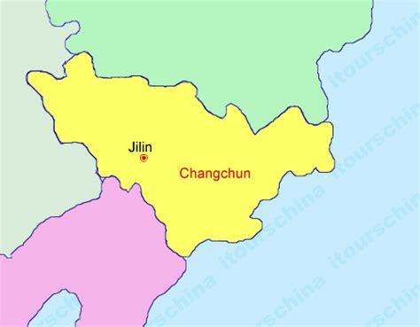 changchun map changchun map map of china changchun city maps