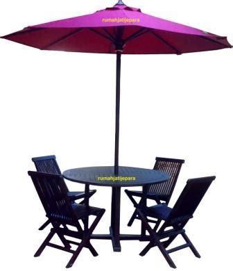 Meja Rias Salon parasol payung taman hotel kolam renang pantai kayu jati