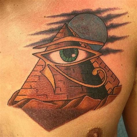 egyptian pyramid tattoos eye of horus tattoos designs ideas and meaning tattoos