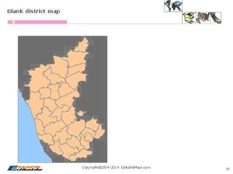 karnataka editable map youtube