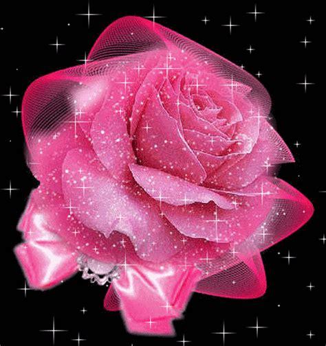 rosas brillantes con movimiento flores con movimiento gifs flores brillantes imagui