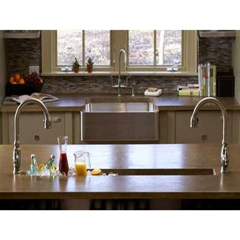Kitchen Bar Sinks 42 Inch Stainless Steel Undermount Single Bowl Kitchen Bar Prep Sink Zero Radius Design